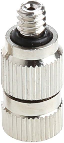 Dabixx JunYe - Boquilla pulverizadora para jardín, 0,6 mm, 0,8 mm, antigoteo, 8 Unidades