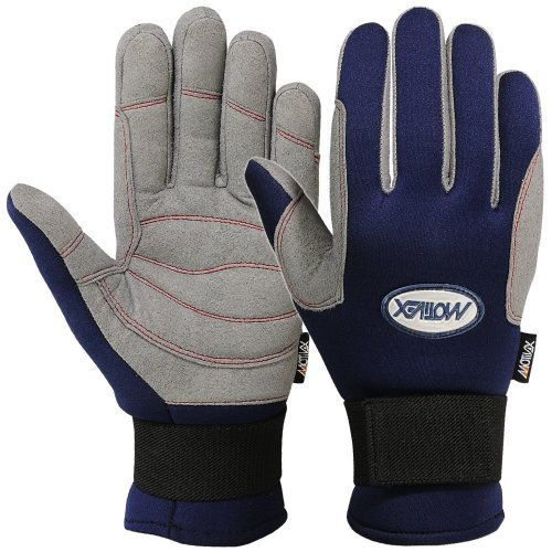 (MRX BOXING & FITNESS Winter Men Sailing Gloves Full Fingers All Weather Gripping Gloves (Medium))