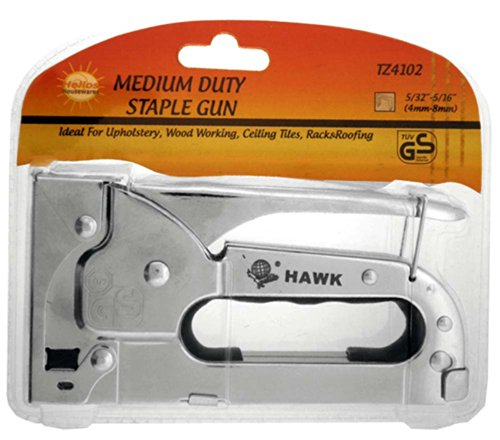 HELIOS 6'' X 3'' Medium Duty Staple Gun With Safety Bar To Hold Lever: TZ-28483 by Helios (Image #1)