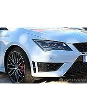 Finest-Folia KO37 - Adhesivo decorativo para coche, diseño de ranuras, color negro