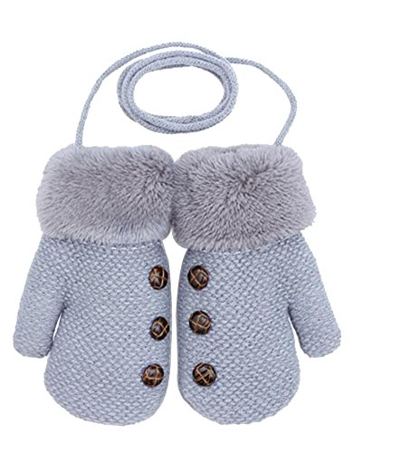 Dorapocket Cute Kids Gloves Baby Knitted Gloves