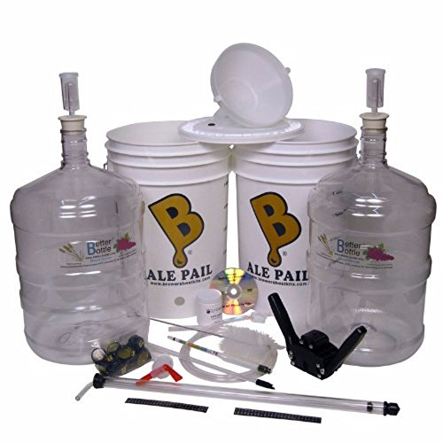 Brewing Intermediate Kit- with Two 5 Gallon Better Bottles by Home Brew Ohio