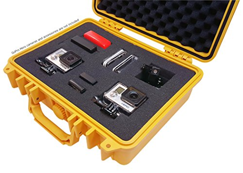 IBEX Cases - Yellow Watertight GoPro Hero and Accessories...