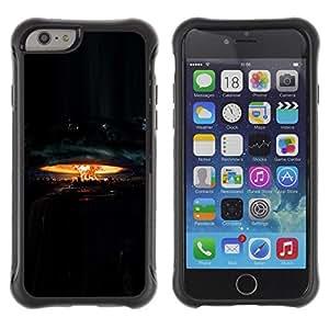 Suave TPU GEL Carcasa Funda Silicona Blando Estuche Caso de protección (para) Apple Iphone 6 / CECELL Phone case / / Explosion Nuclear Destruction /