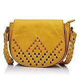 Caprese Rhea Women's Sling Bag (Yellow)