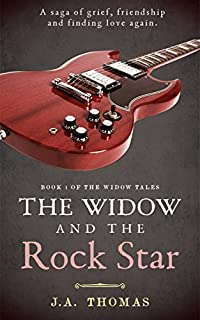 The Widow And The Rock Star by J.A. Thomas ebook deal