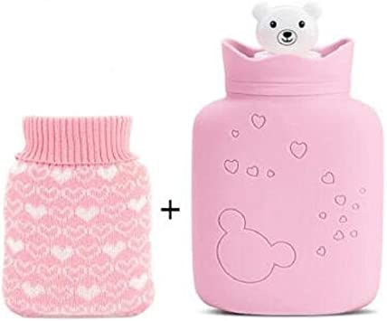QIHANG-UK Botella de agua caliente microondas calentador portátil ...