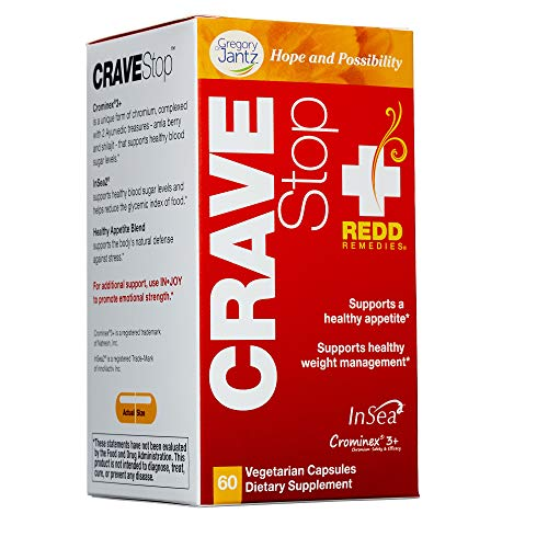 (Redd Remedies - Crave Stop, Supports Healthy Appetite Control, 60 Count)
