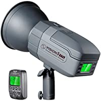 Neewer Vision5 400W i-TTL for NIKON HSS Outdoor Studio Flash Strobe with 2.4G System and Wireless Trigger, Lithium Battery (up to 500 Full Power Flashes), German Engineered, 3.96 Pounds, Bowens Mount