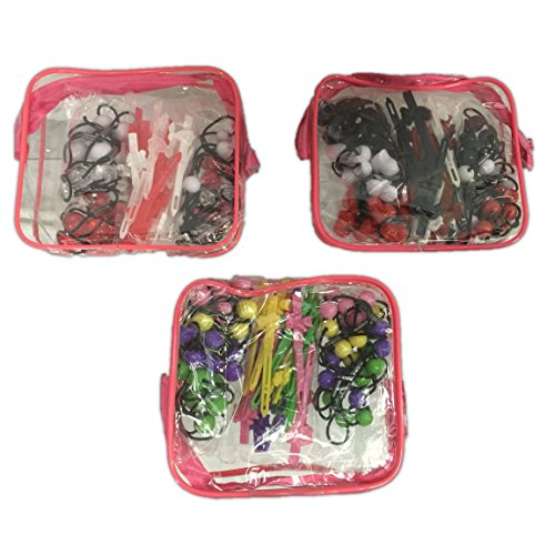 goody-girls-mosaic-twin-beads-barrettes-48-pieces-with-carry-case-colors-may-vary
