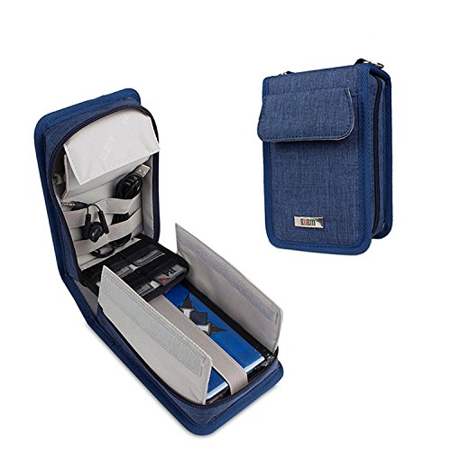Nintendo Switch Carrying Case ,Protective Storage Bag for New 3DS Games ,3DS XL,3DS LL Console and 3DS Accessories,Blue