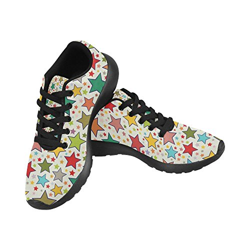 InterestPrint Womens Trail Running Shoes Casual Lightweight Athletic Sneakers