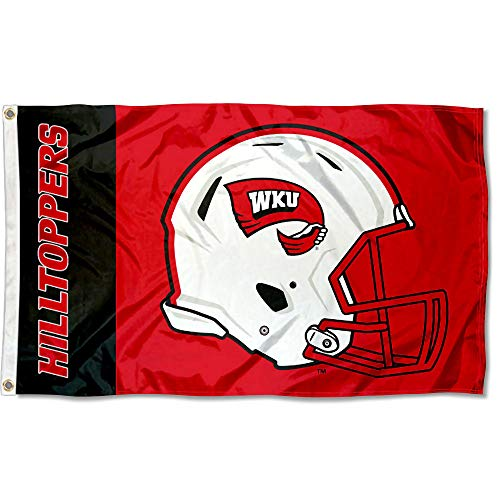 College Flags and Banners Co. Western Kentucky Hilltoppers Football Helmet Flag