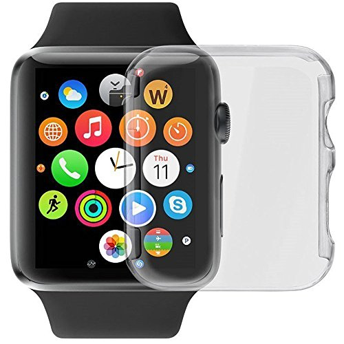GBSELL Ultra-Slim Cystal Clear PC Hard Protective Case Cover For Apple Watch Series 2 42mm