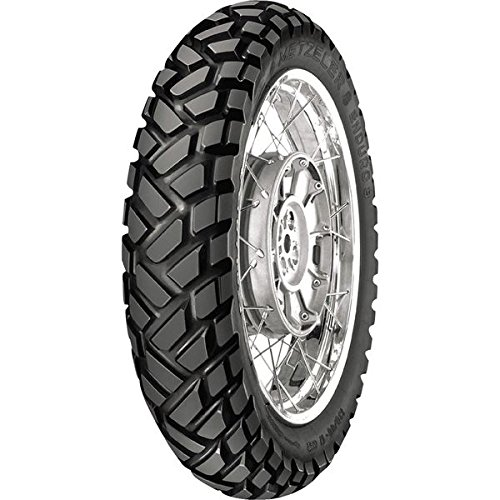 Metzeler Enduro 3 Sahara Tire - Rear - 120/80-18 , Position: Rear, Load Rating: 62, Speed Rating: S, Tire Size: 120/80-18, Rim Size: 18, Tire Type: Dual Sport, Tire Application: All-Terrain