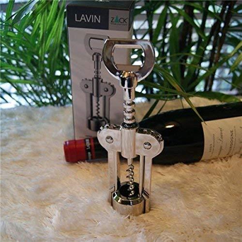 ZACK 30602 Lavin Lever Stainless Corkscrew, 7.1-Inch