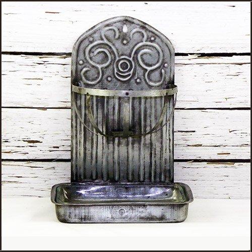 Tin Farmhouse Soap Holder (Dish Farm Soap)
