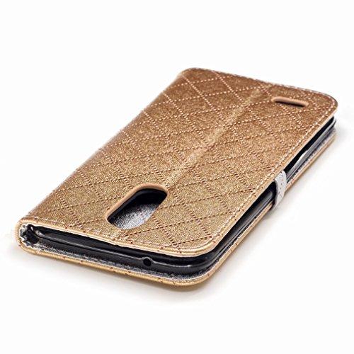 Yiizy LG K10 (2017) / X400 / M250N / K20 plus / LG Harmony Funda, Amar Diseño Solapa Flip Billetera Carcasa Tapa Estuches Premium PU Cuero Cover Cáscara Bumper Protector Slim Piel Shell Case Stand Ran