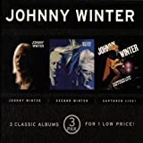 3 Pak: Johnny Winter / Second / Captured Live