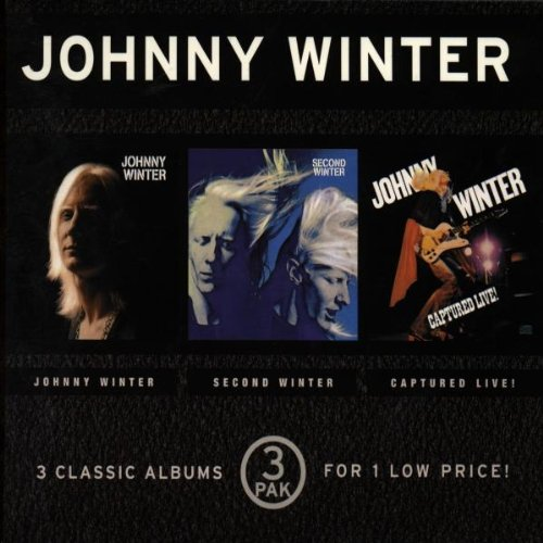 3 Pak: Johnny Winter / Second / Captured Live by Sony