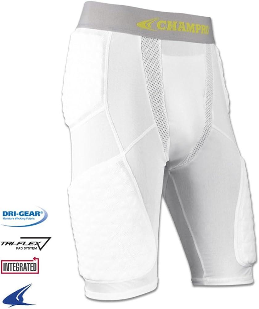 Men Protector Basketball Sports Crashproof Padded Pad Compression Short Pants US