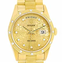 Rolex President automatic-self-wind mens Watch 18308 (Certified Pre-owned)