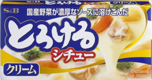 S & B Stew Tasty Cream Sauce Mix Torokeru, 5.6-Ounce Units (Pack of 10)