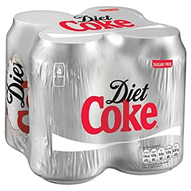 how much is case of diet coke?