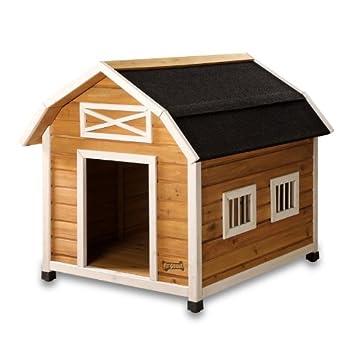 pet squeak the barn dog house large