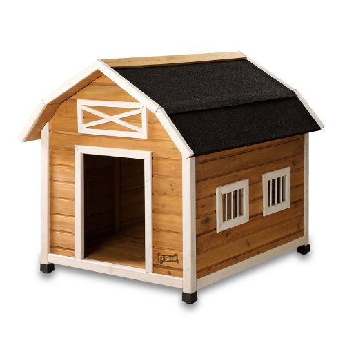 Pet Squeak The Barn Dog House, Large by Pet Squeak