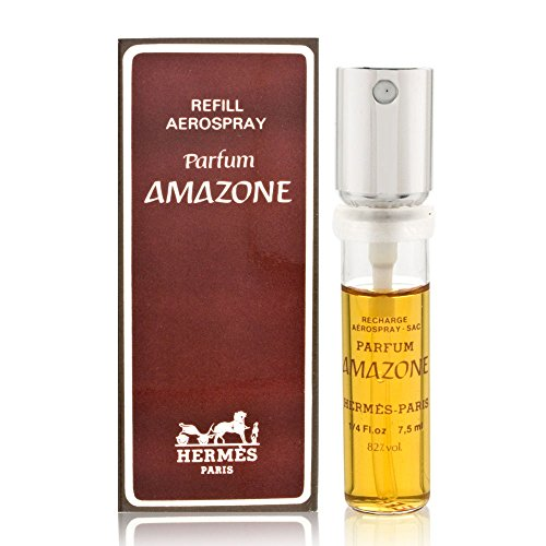 Amazone by Hermes for Women 0.25 oz Parfum Classic Refill Spray (Vintage Collection) - Parfum Classic Spray Refill