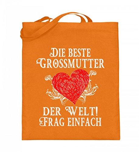 Shirtee Hygjrhgh_xt003_38cm_42cm_5739 - Cotton Fabric Bag For Blue 38cm-42cm Woman Mittelorange