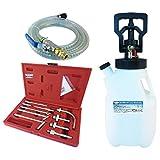 FIT TOOLS 12.5L Air and Manual 2 Way (ATF) OIL & Fluid Dispenser Refill System Pump Set