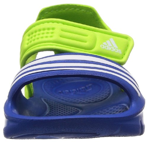 adidas Akwah 8 D6555 - Zapatillas de fitness para unisex-niño Varios colores (Mehrfarbig (Blue Beauty F10 / Running White Ftw / Solar Slime))