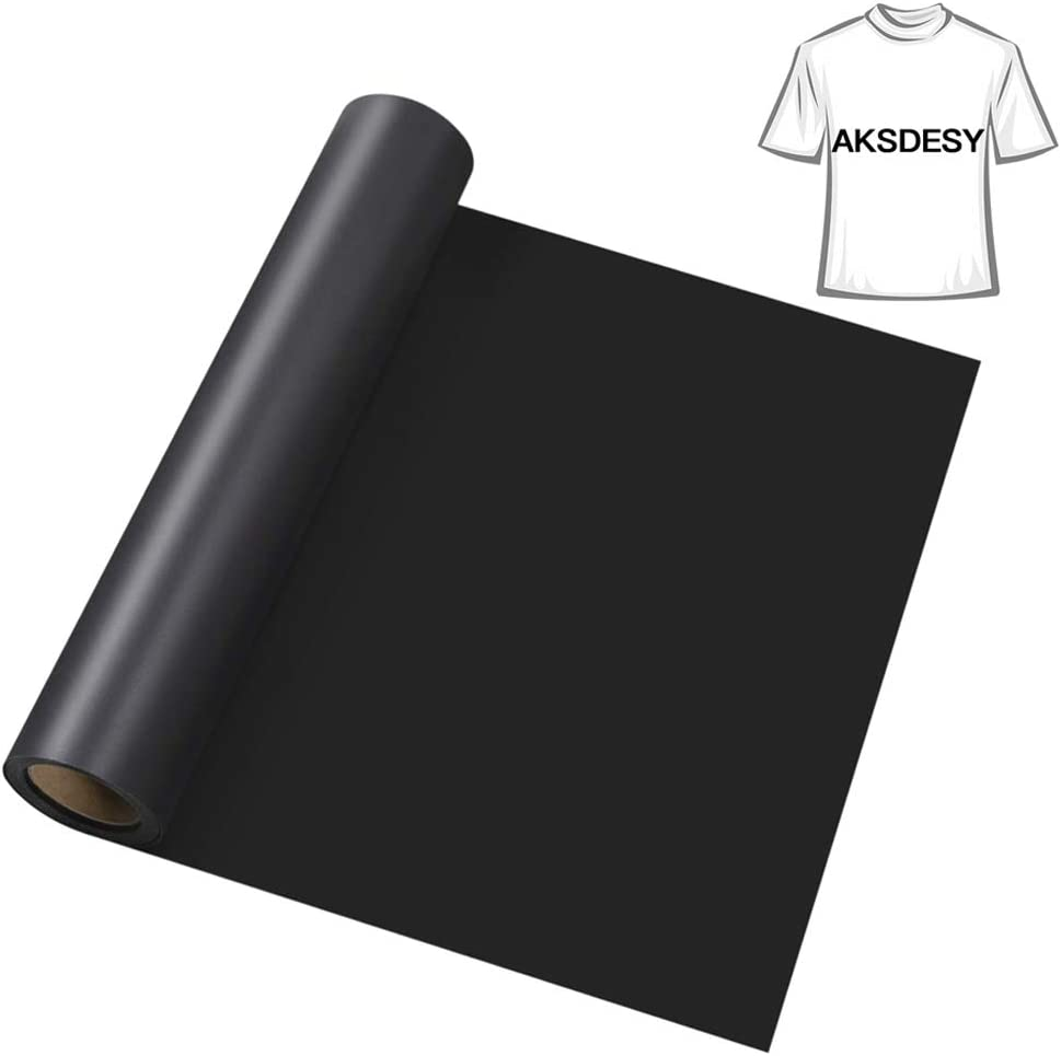 Clothes Hats and Other Textiles HTV Iron on Vinyl Heat Transfer Vinyl 12inch x12feet Roll for Cricut /& Silhouette Easy to Cut /& Weed DIY Heart Press Design for T-Shirt