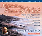 Meditations for Peace of Mind (Prescriptions for Living)
