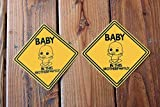Baby On Board Sticker | Funny! Highly Visible