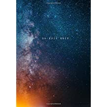 """Monthly Planner 2018 - Galaxy Space Cover: Calendar Year Journal / Monthly Organizer Book / Professionally Designed Agenda 7"""" x 10"""""""