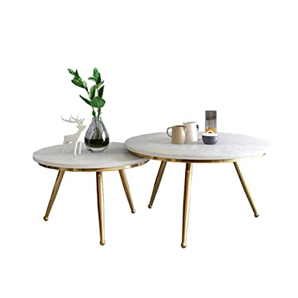 Awesome Amazon Com Simple Coffee Table Set Natural Marble Table Evergreenethics Interior Chair Design Evergreenethicsorg