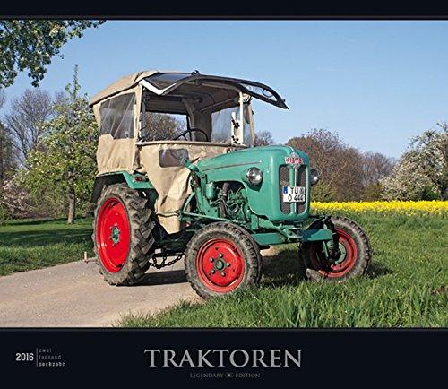 Traktoren 2016 - Bildkalender mit Foliendeckblatt - (33,5 x 29)