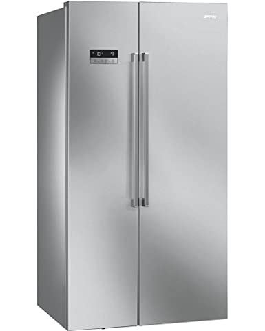Smeg SBS63XE Independiente 558L A+ Acero inoxidable nevera puerta ...