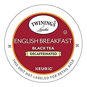 Twinings English Breakfast Decaf Tea, Keurig K-Cups, 48 Count