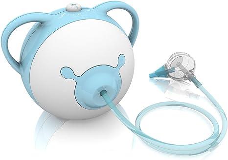 Nosiboo Pro Aspirador nasal (azul eléctrico): Amazon.es: Bebé
