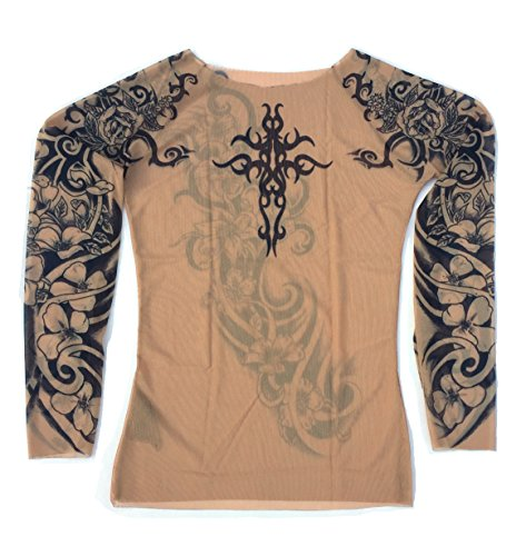 119105d67 Wild rose tattoo shirts il miglior prezzo di Amazon in SaveMoney.es