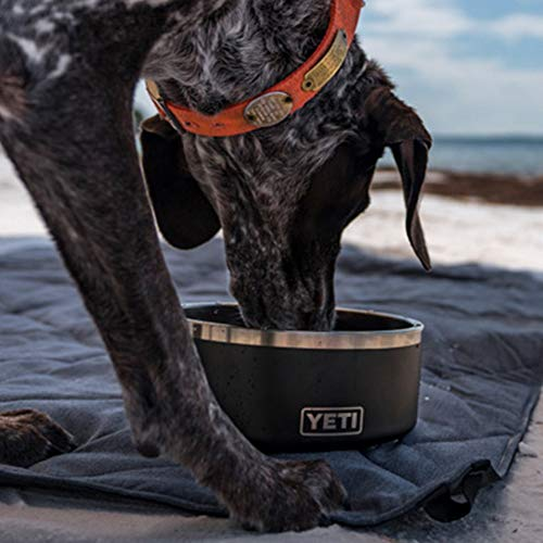 YETI Boomer 8 Stainless Steel, Non-Slip Dog Bowl, Black Duracoat by YETI (Image #7)