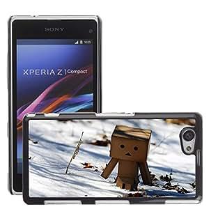 Super Stellar Slim PC Hard Case Cover Skin Armor Shell Protection // M00049901 danbo creative winter aero // Sony Xperia Z1 COMPACT D5503