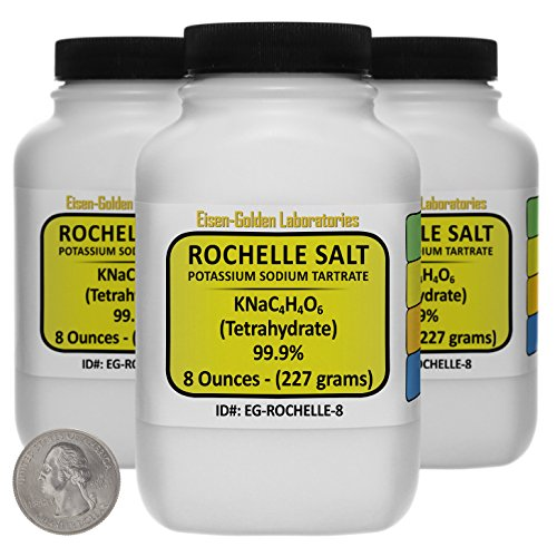 Used, Potassium Sodium Tartrate [Rochelle Salt] 99.9% USP for sale  Delivered anywhere in USA
