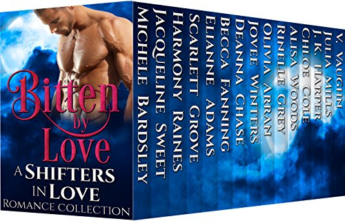 Bitten by Love: Shifters in Love Romance Collection cover