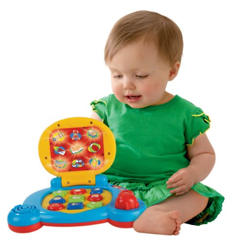 51RAxjmd1NL - VTech Baby's Learning Laptop Toy (Frustration Free Packaging)