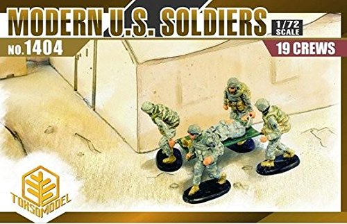 ern U.S. Soldiers (19 Figures Set) Model Kit ()